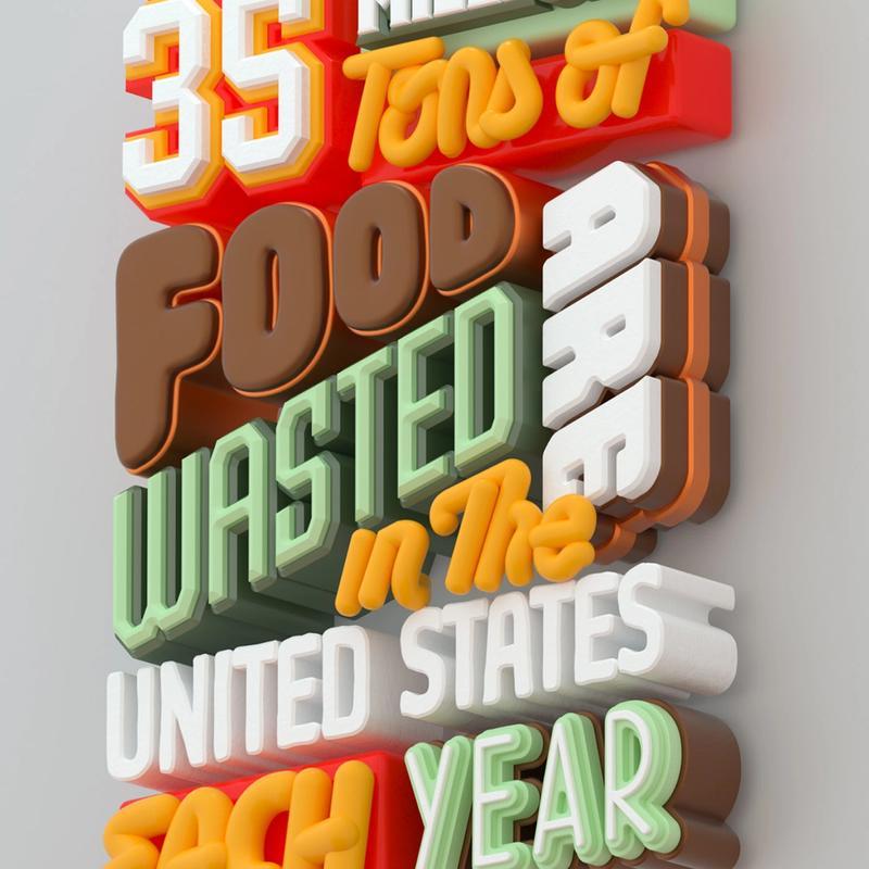 Trey Holt: Food Waste Poster: v3 (12/17/17)