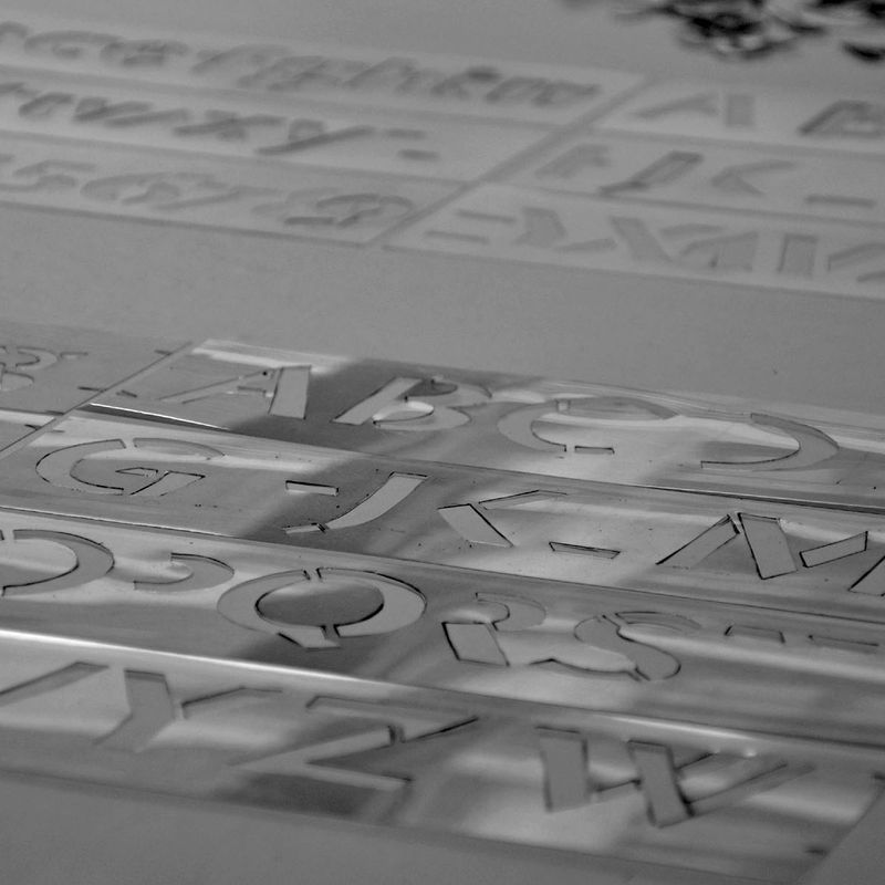 110603 stencil exhibition 03