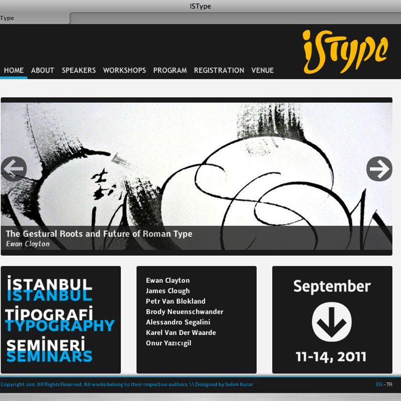110703 ISType website v.1.0