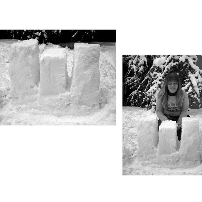 Snow Letters · 'E' by Aslı Mete
