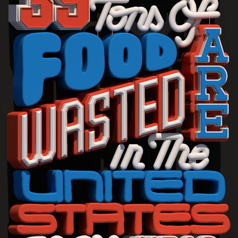 Trey Holt: Food Waste Poster: v1 (12/17/17)