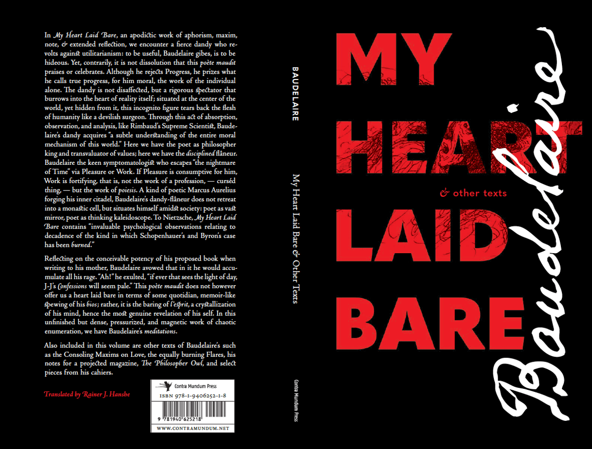 My Heart Laid Bare & Other Texts
