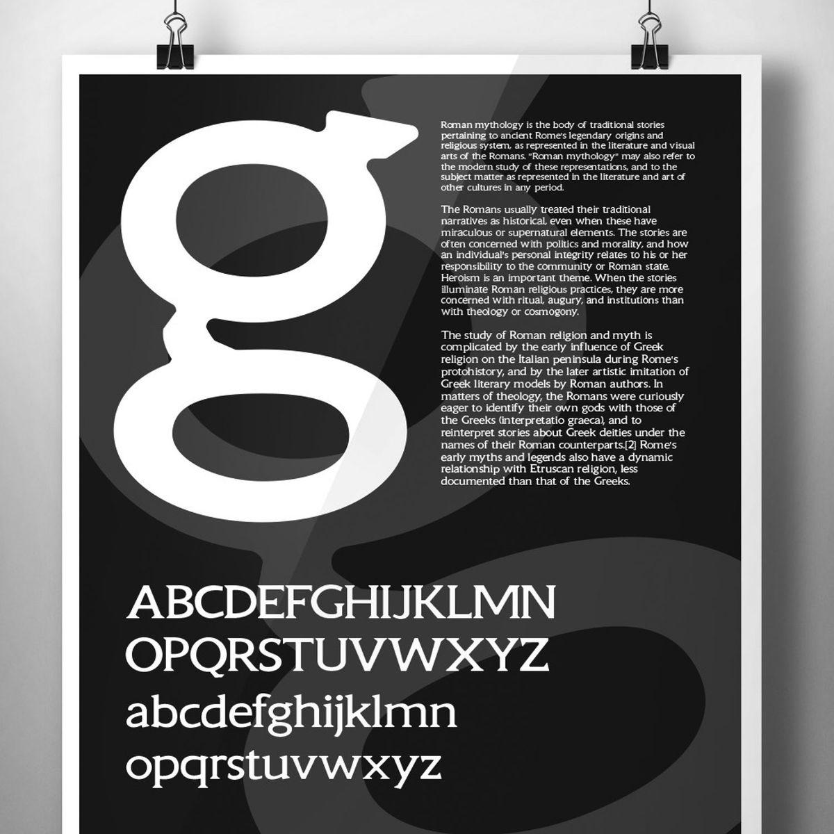 5360D Golembeski: Tiny Romans typeface design