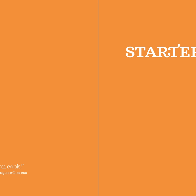 The Method · Starters: opening page