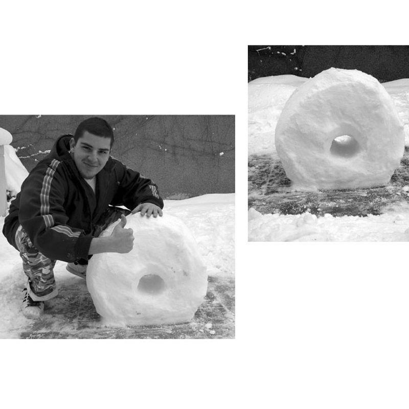 Snow Letters · 'O' by Onur Karakurt