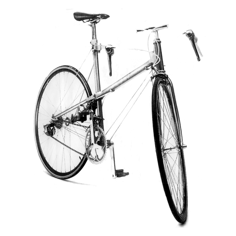 Tenso-structure bicycle, 1970