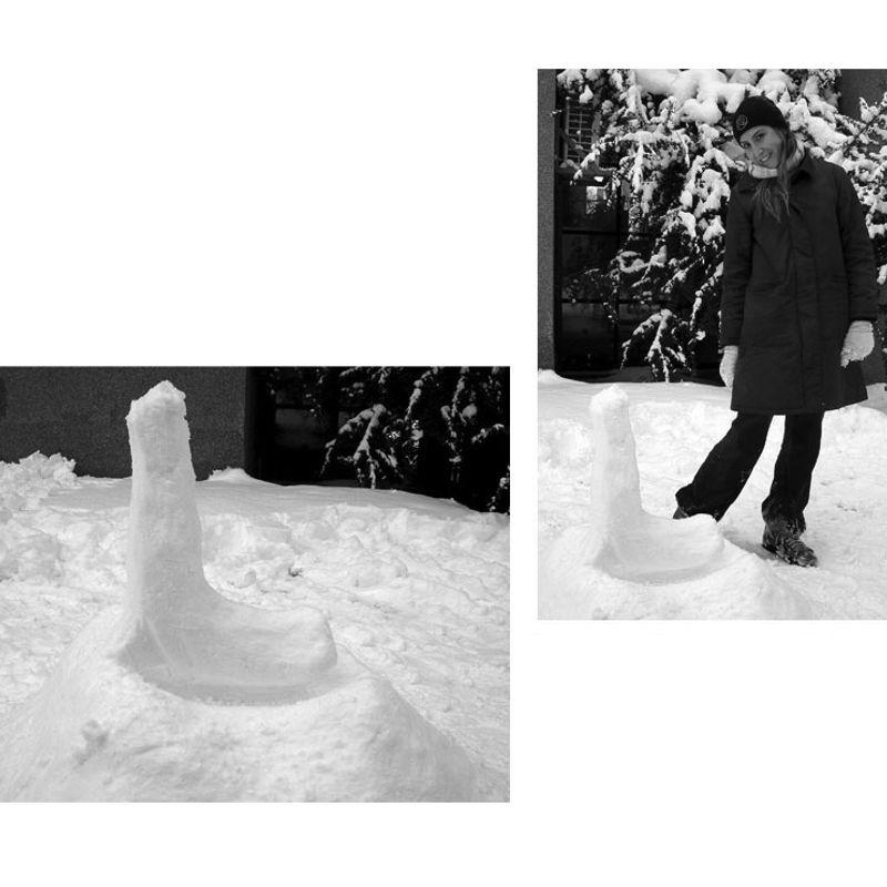 Snow Letters · 'L' by Rüyam Yazar