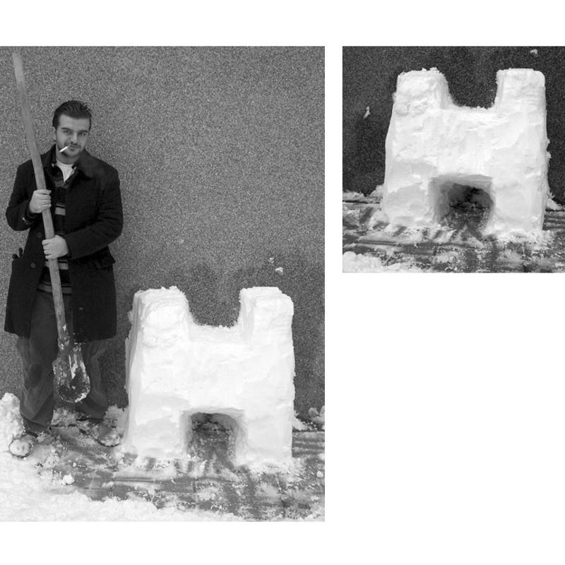 Snow Letters · 'H' by Atahan Atalay