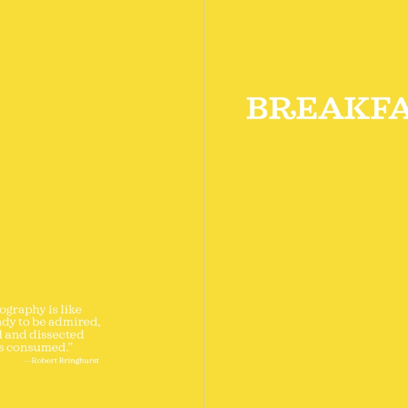 The Method · Breakfast: opening page