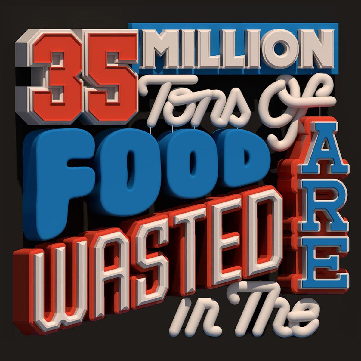 171217 ARTC 4305 Holt P1: Food Waste Poster