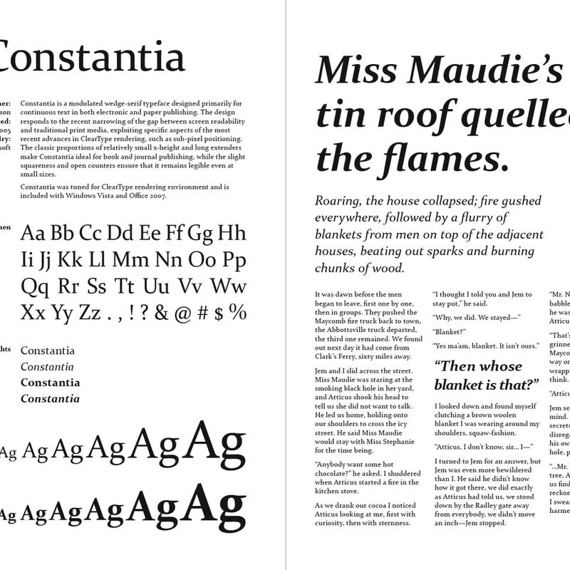 Font Catalog pp.38–39 — Constantia