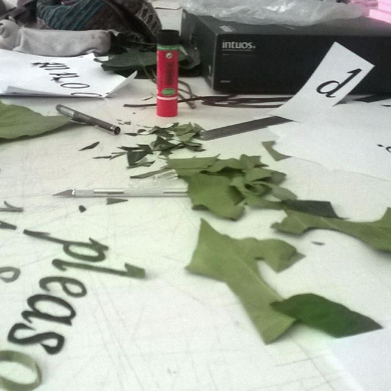 "150601 ""Concrete Type"" workshop: Zeynep Acarlı: 1"
