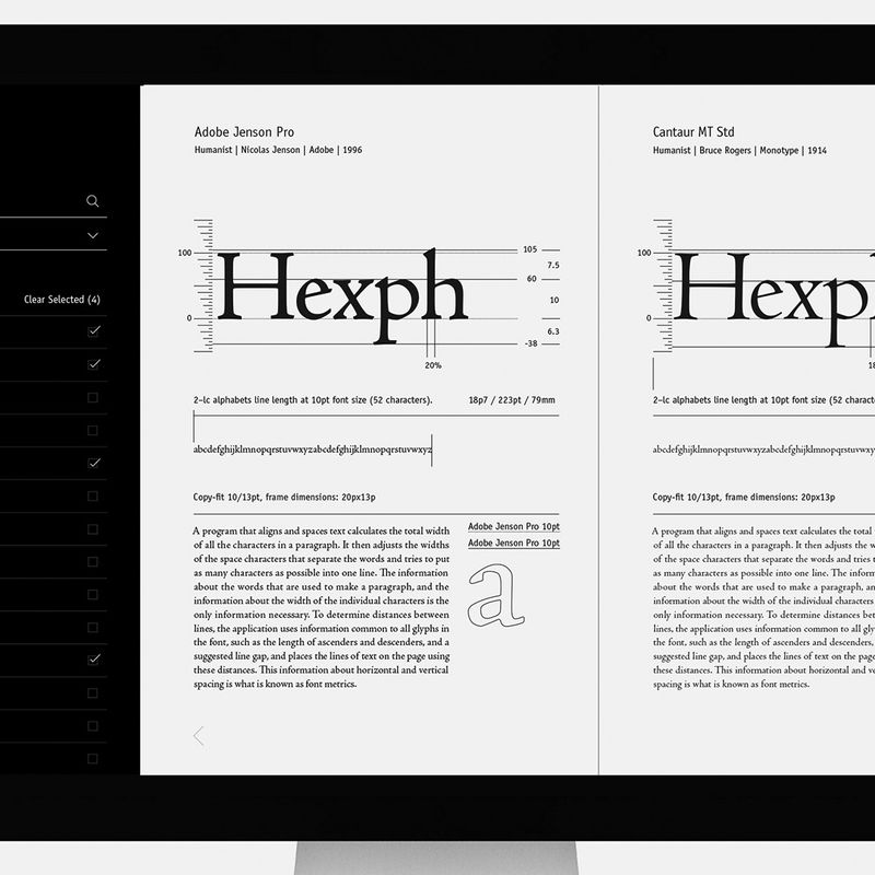 Font Metric Guide · app prototype