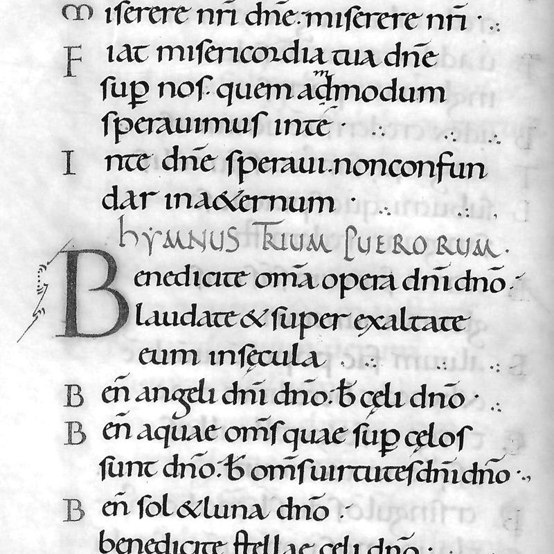 The Psalter of Oswald or the Ramsey Psalter
