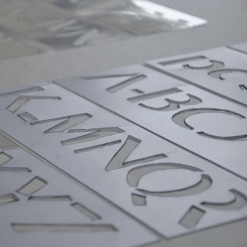 Sans & Stenciling