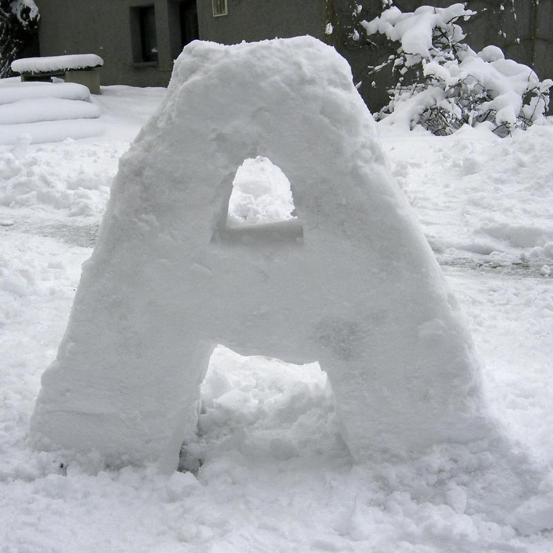 Snow Letters Workshop