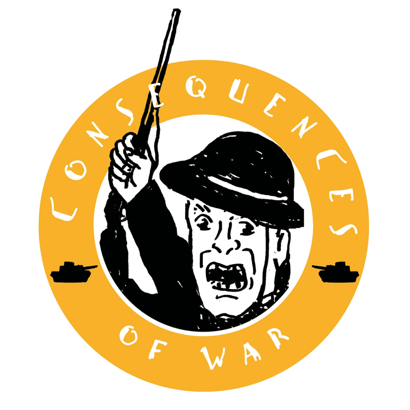 "Knickerbocker: ""Consequences of War"" Game Logo"