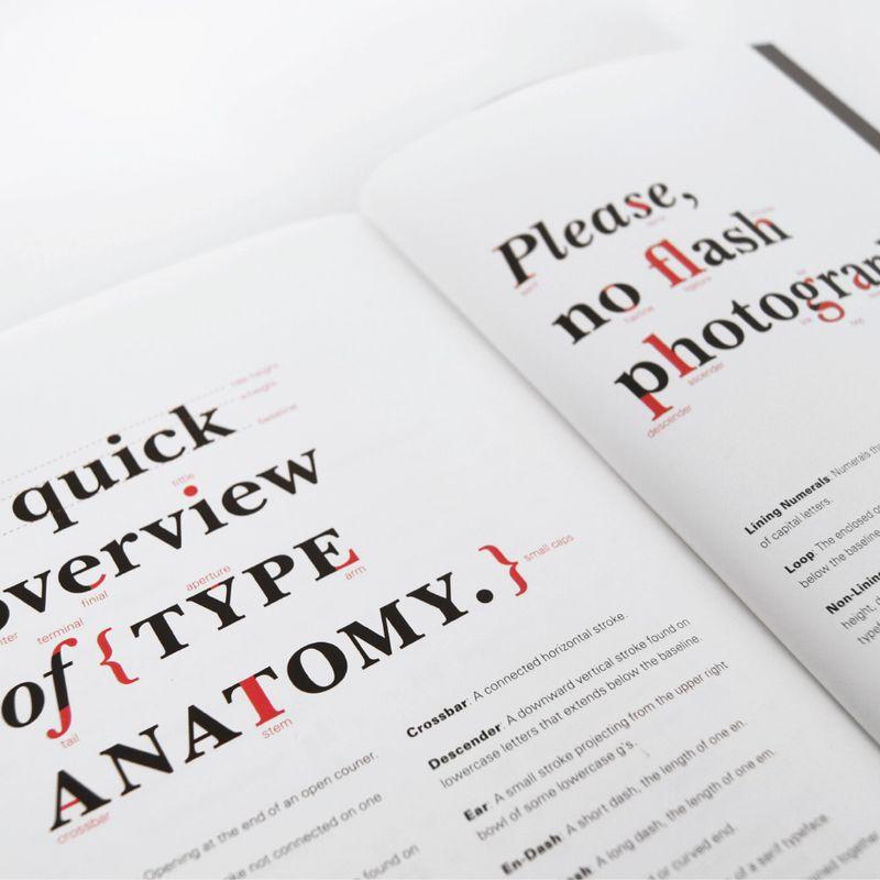 Font Catalog glossary