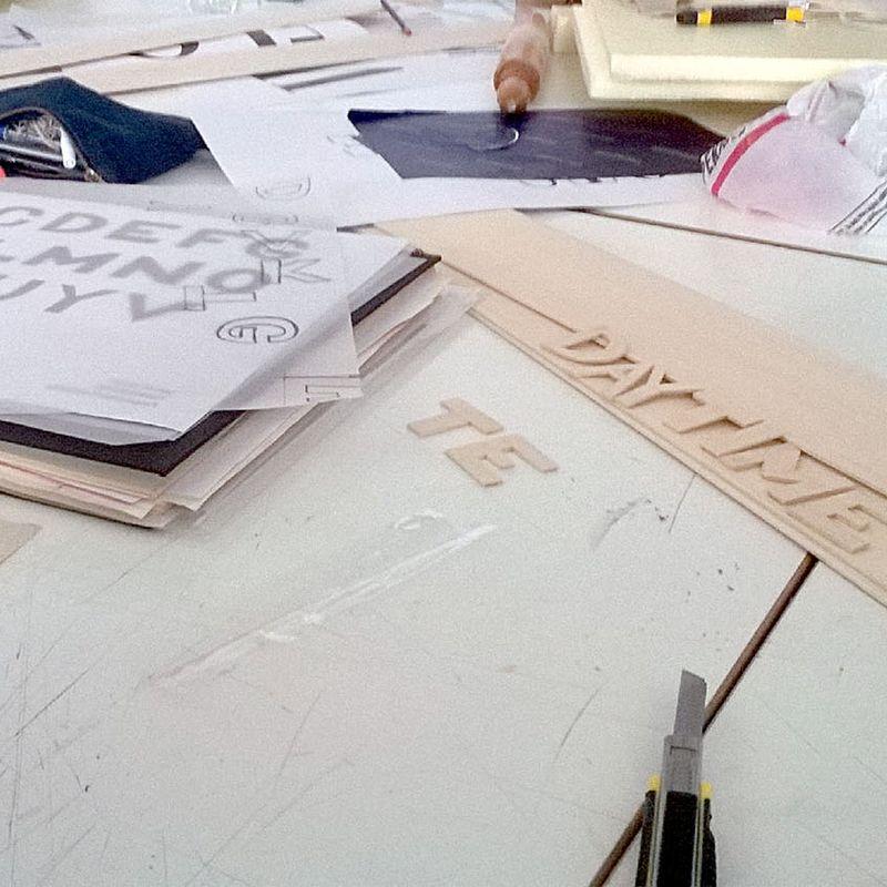 "150601 ""Concrete Type"" workshop: Seray Si̇ntaç: 2"