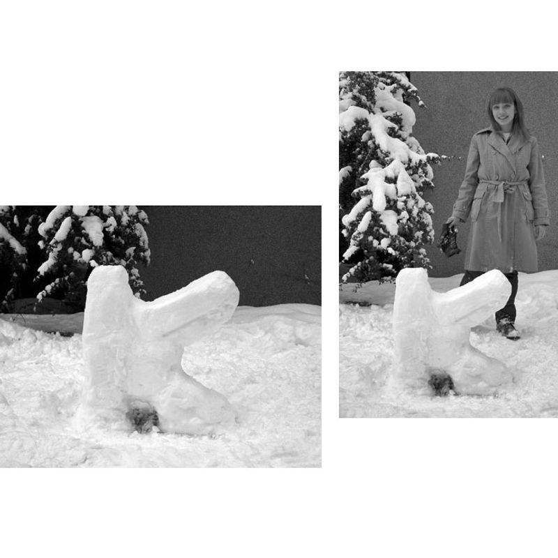 Snow Letters · 'K' by İrem Hatipoğlu