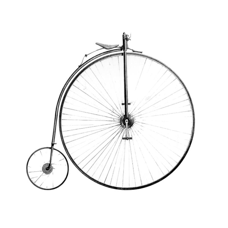 High-wheeler bicycle, 1873
