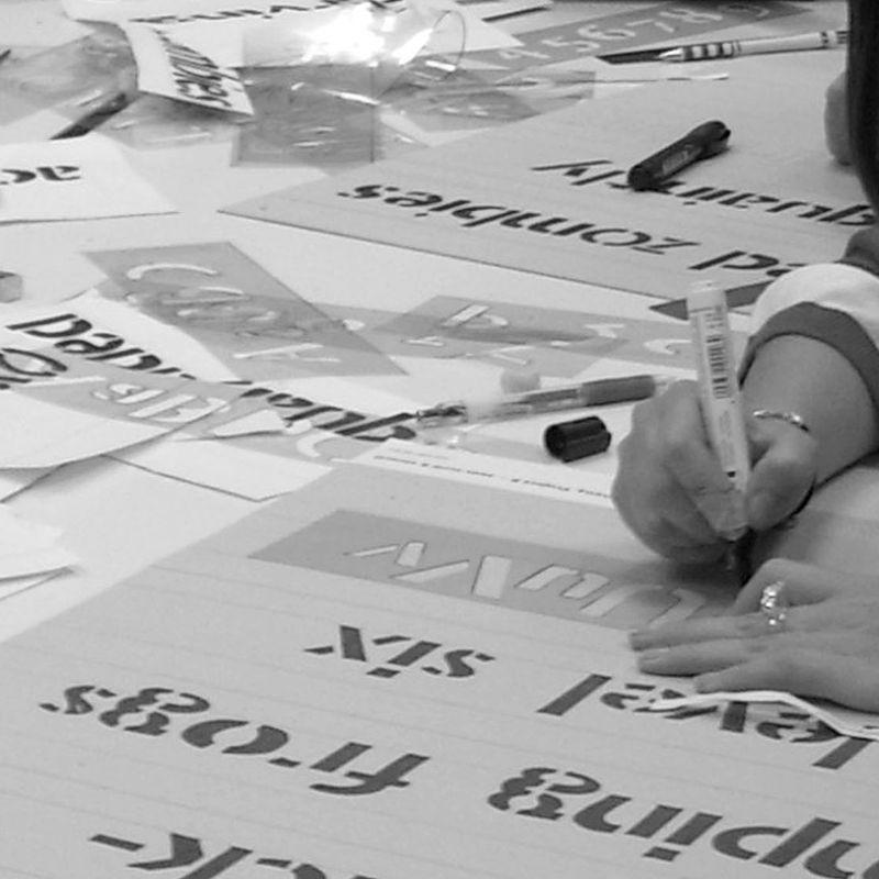 110602 stencil workshop 13