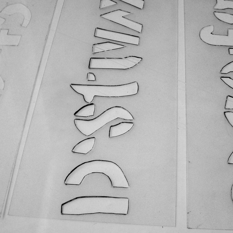 110603 stencil exhibition 08