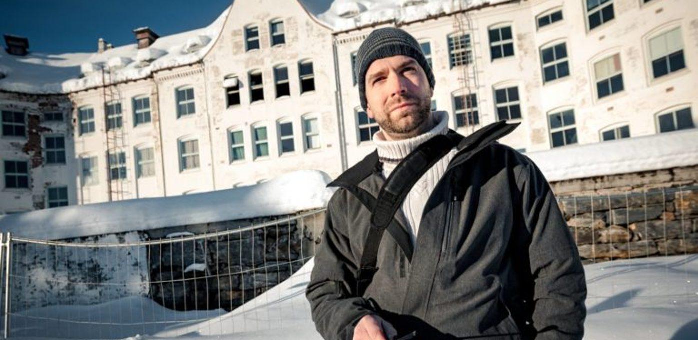 Jeff Pedersen i snøen