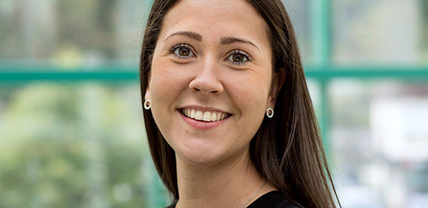 Rebekka Ullebø som fikk jobb i Deloitte