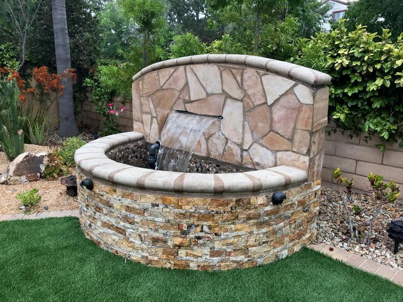 custom water fountain