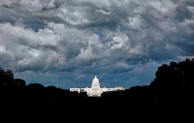 capitol building ominous