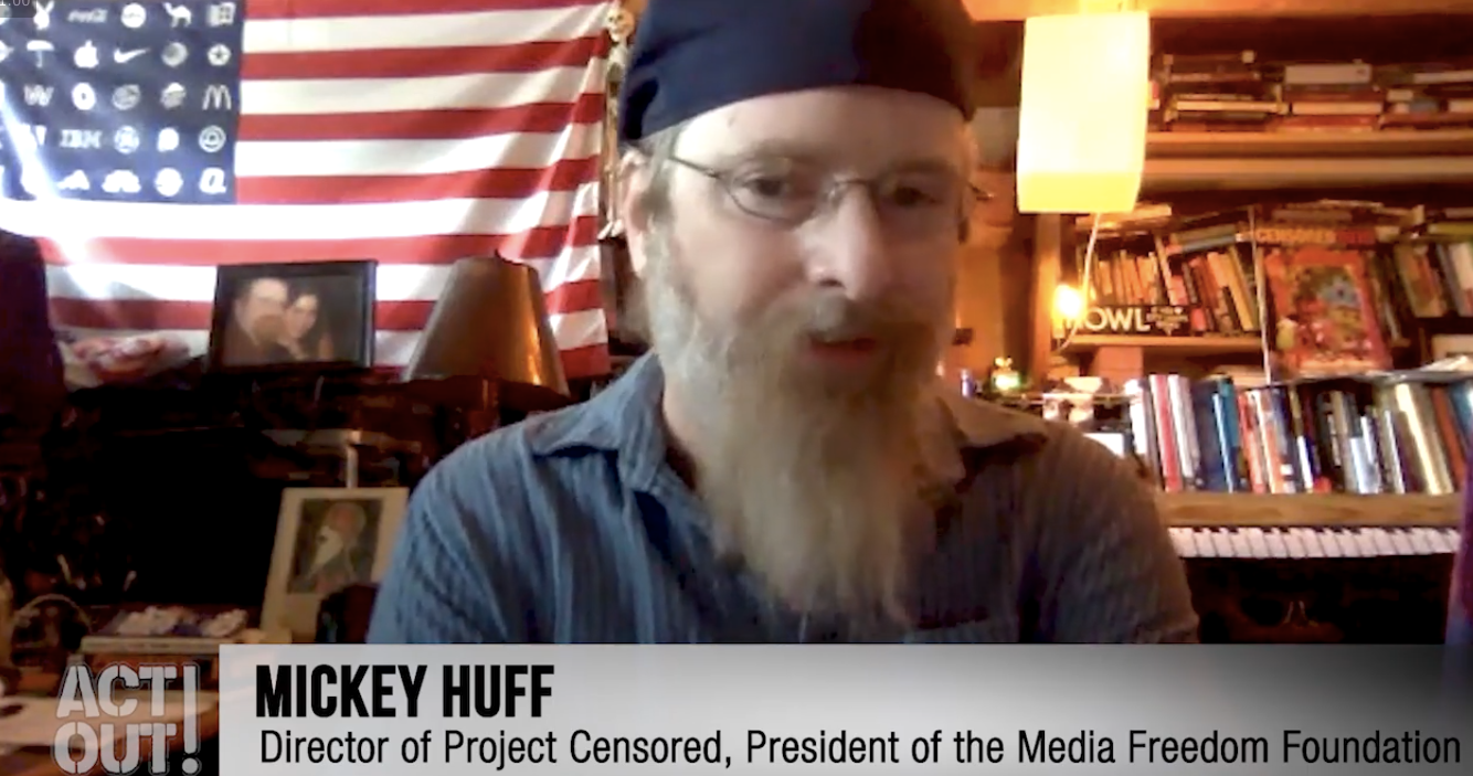 Mickey Huff interview on media literacy