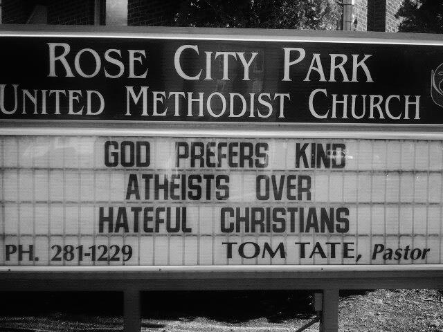 god prefers kind atheists over hateful christians