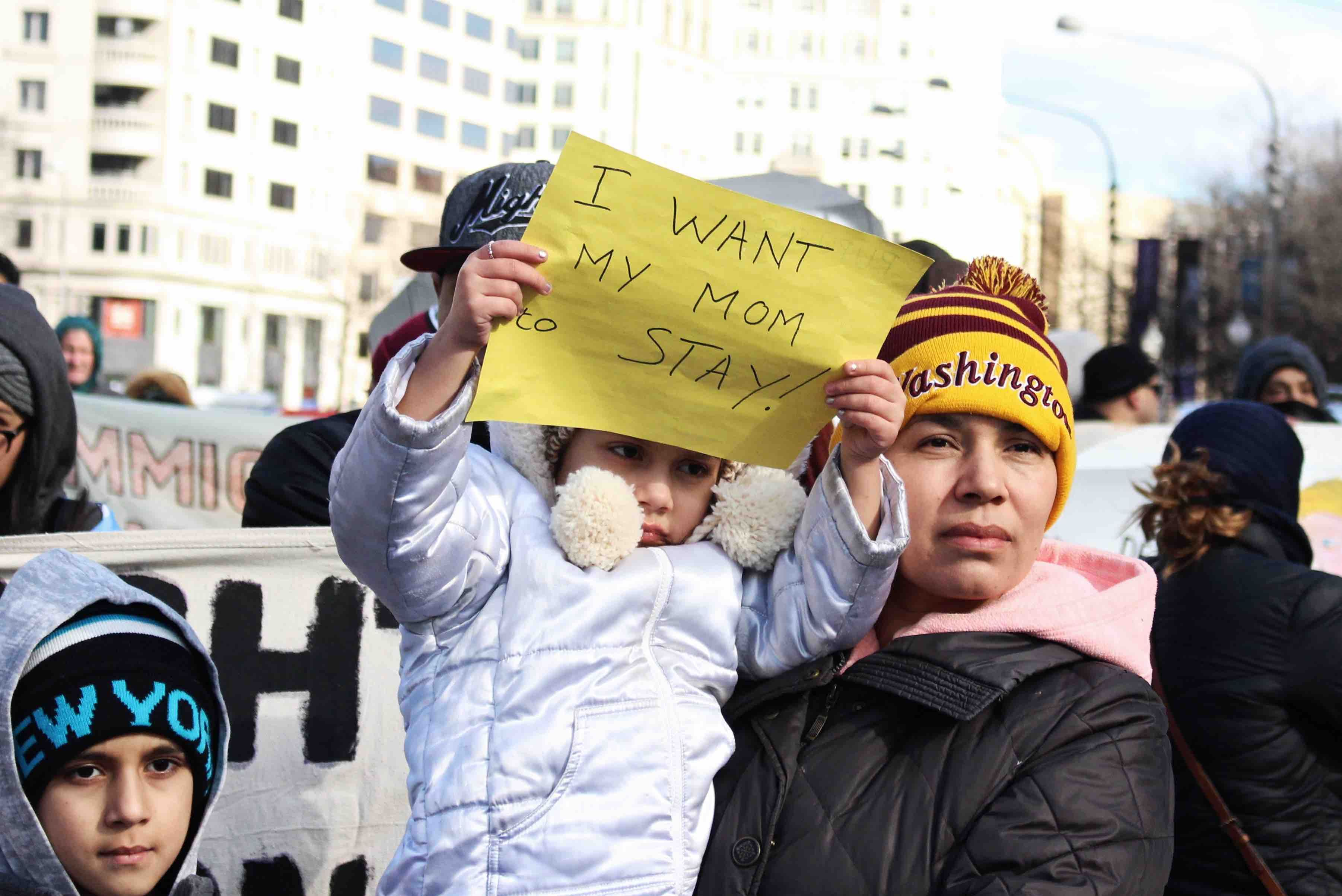 a day without immigrants march