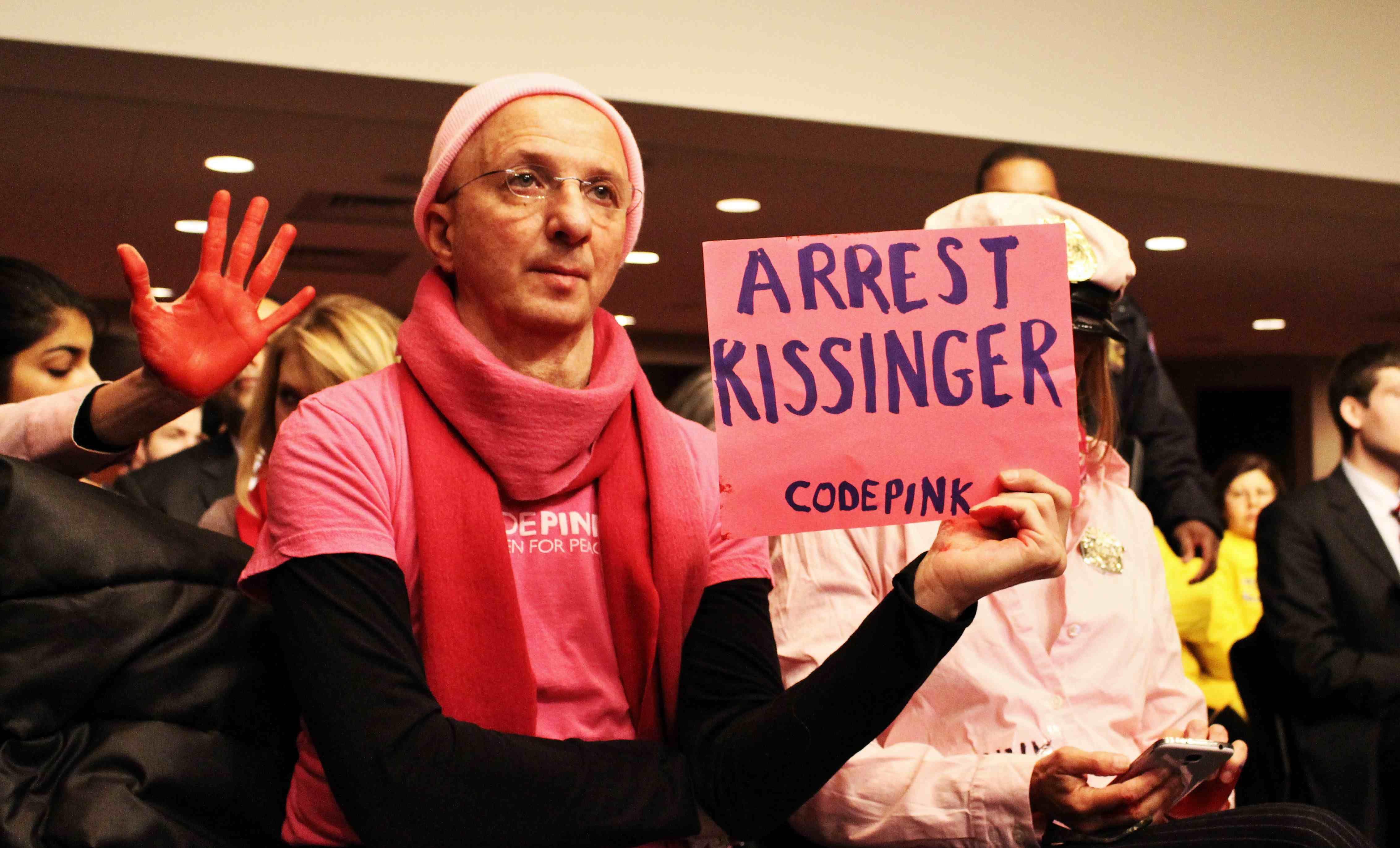 arrest kissinger for war crimes