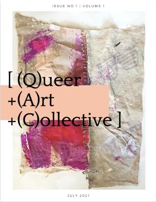cover of queer art collective zine