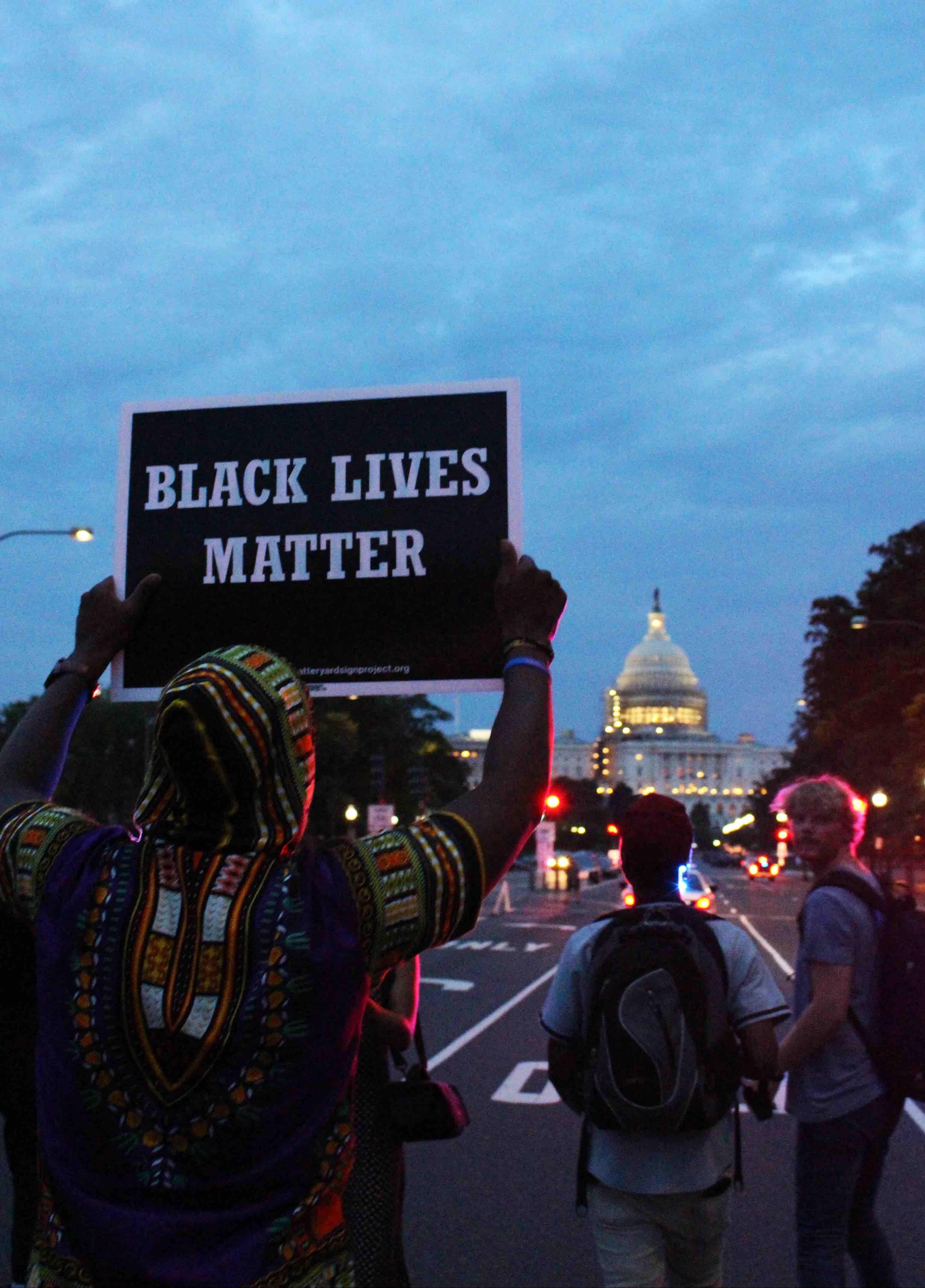 Black Lives Matter at the US capitol