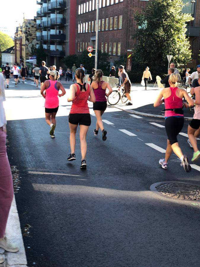 Tine løper maraton