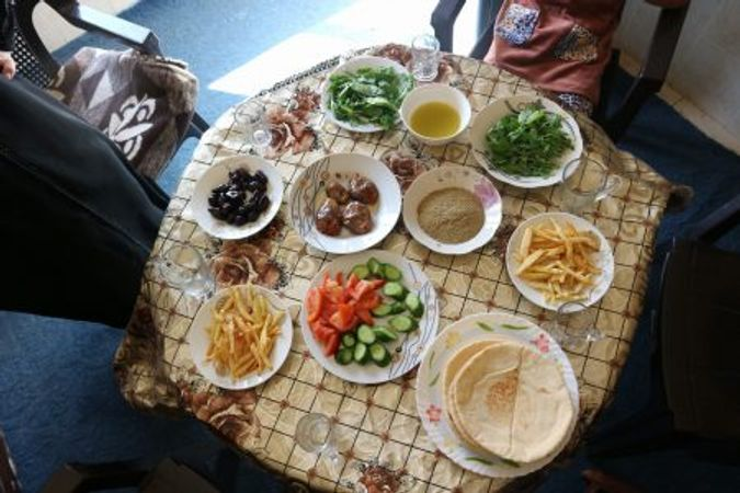 Mat i bordet