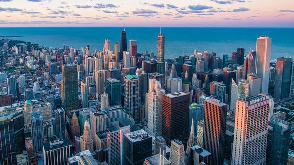 Foto av storby