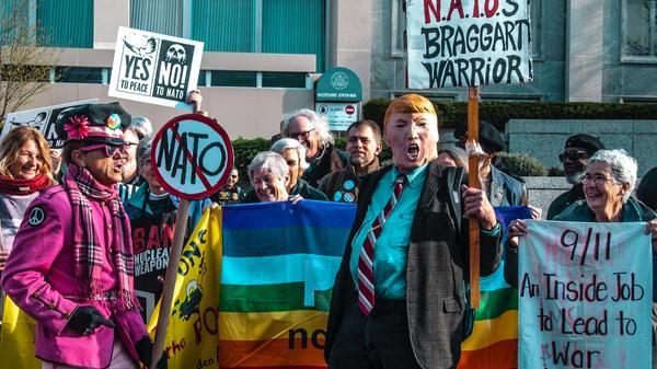 Demonstrasjon mot NATO