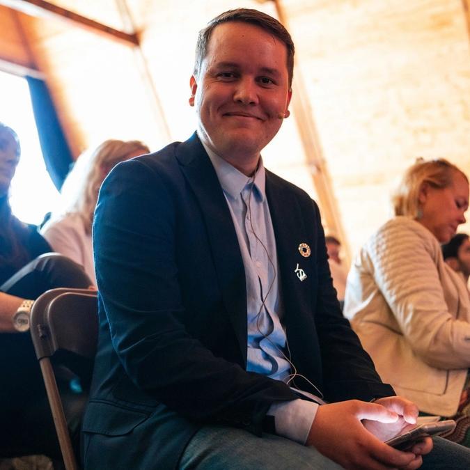 Bilde av Didrik Strøhm, CEO av YSI (foto privat)