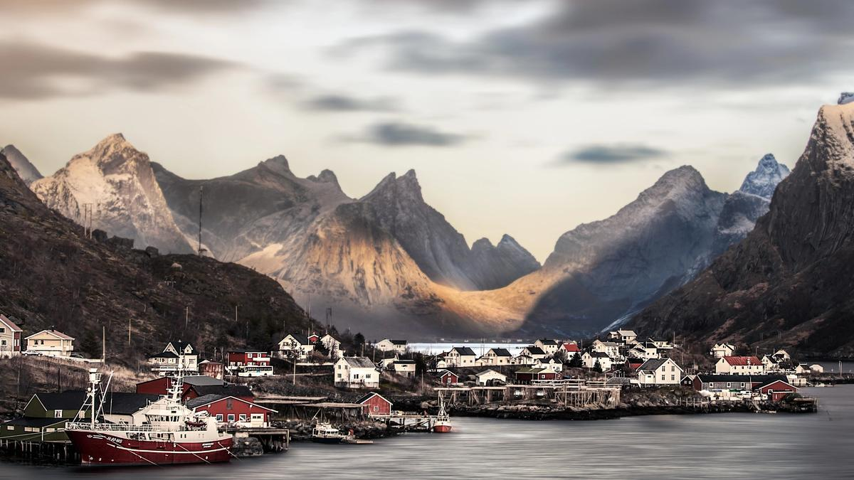 Foto av Lofoten