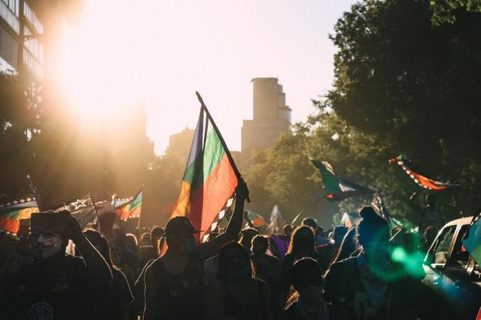 demonstrasjoner i Chile