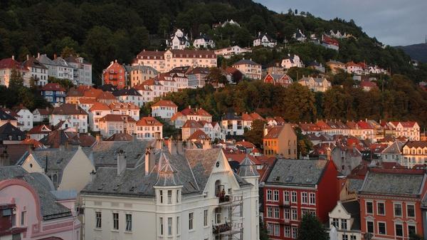 Foto av Bergen by