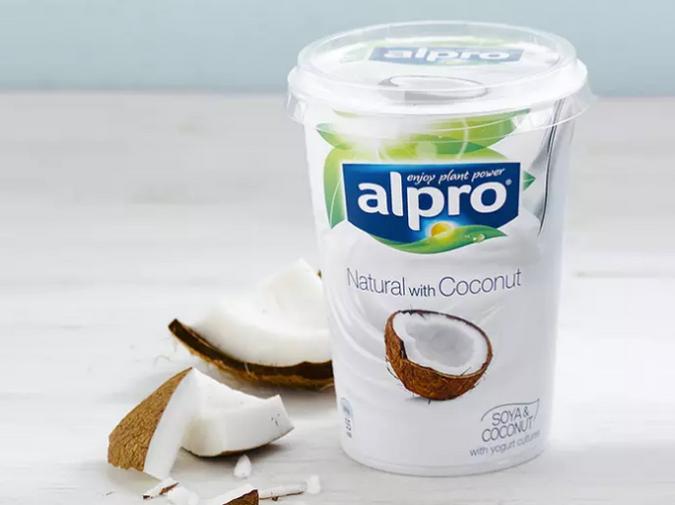 kokos alpro yoghurt boks