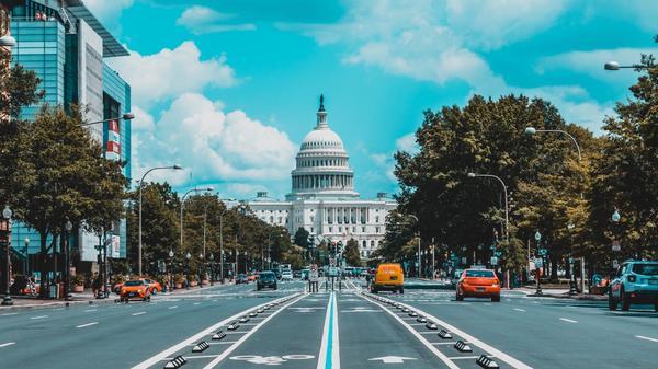 Illustrasjonsbilde av det hvite hus i Washington DC, USA tatt av Jorge Alcala fra Unsplash