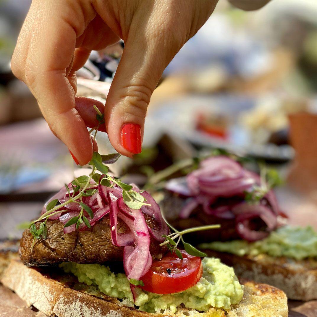 Vegetariskt på grillen