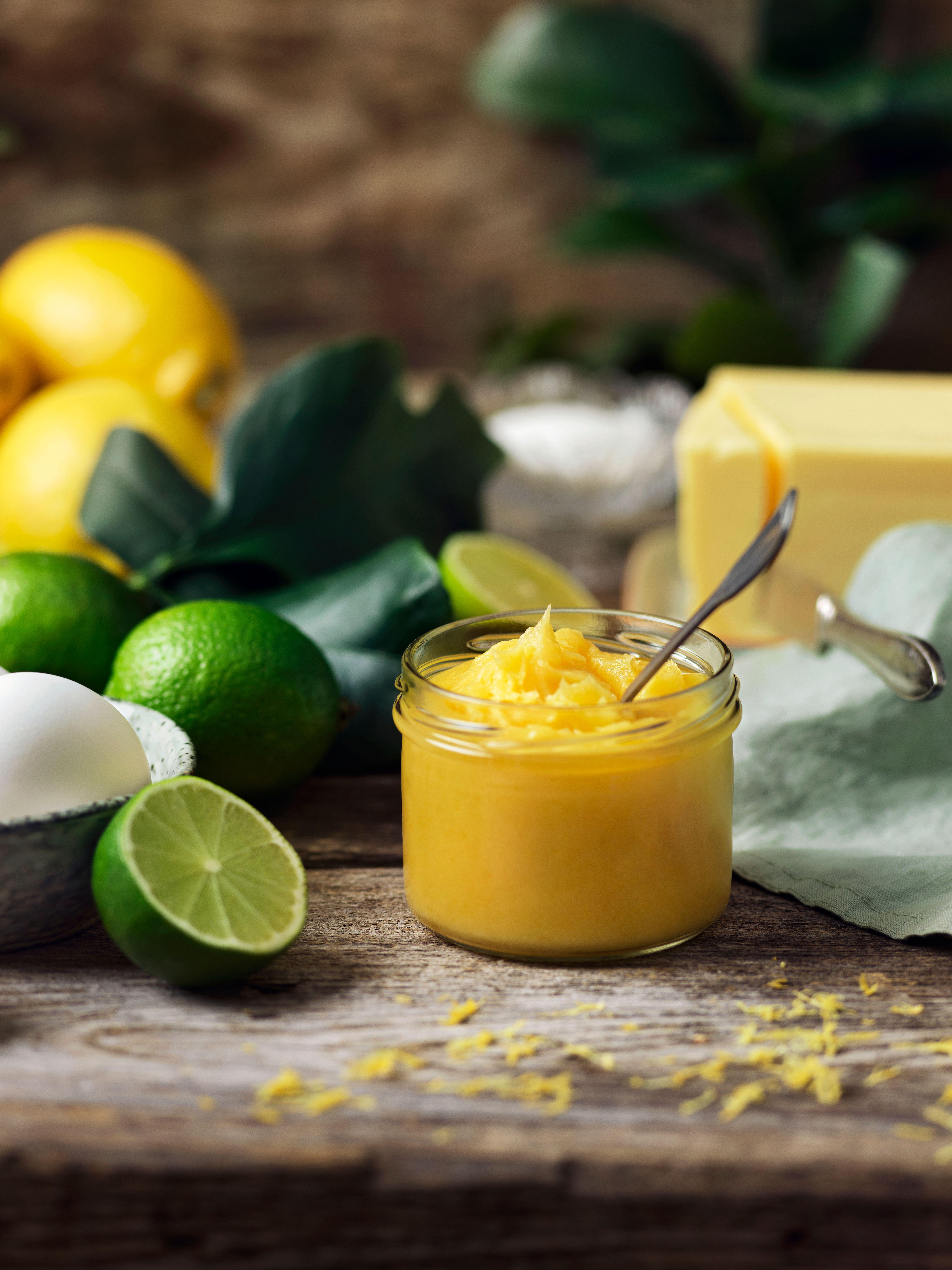 Citron- och limecurd