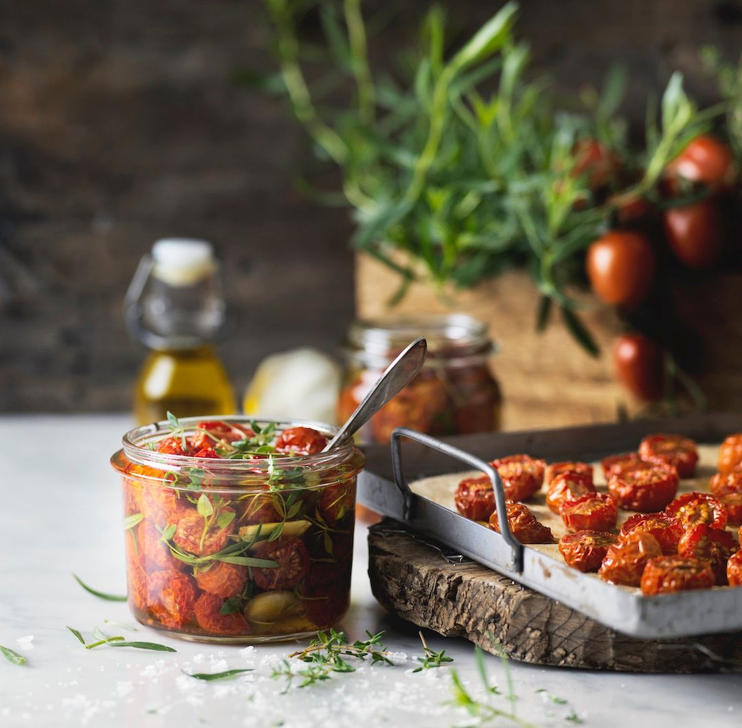 Lättorkade tomater
